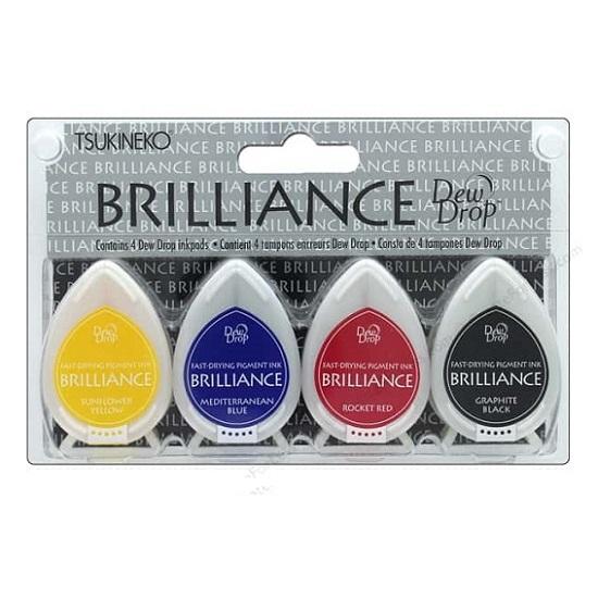 Brilliance Dew Drop Ink Pads: Basics
