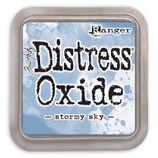 Distressed Oxide: Stormy Sky