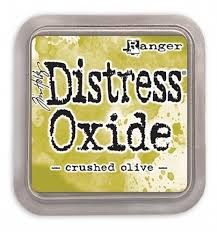Distressed Oxide: Crushed Olive