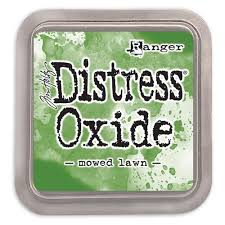 Distressed Oxide: Mowed Lawn