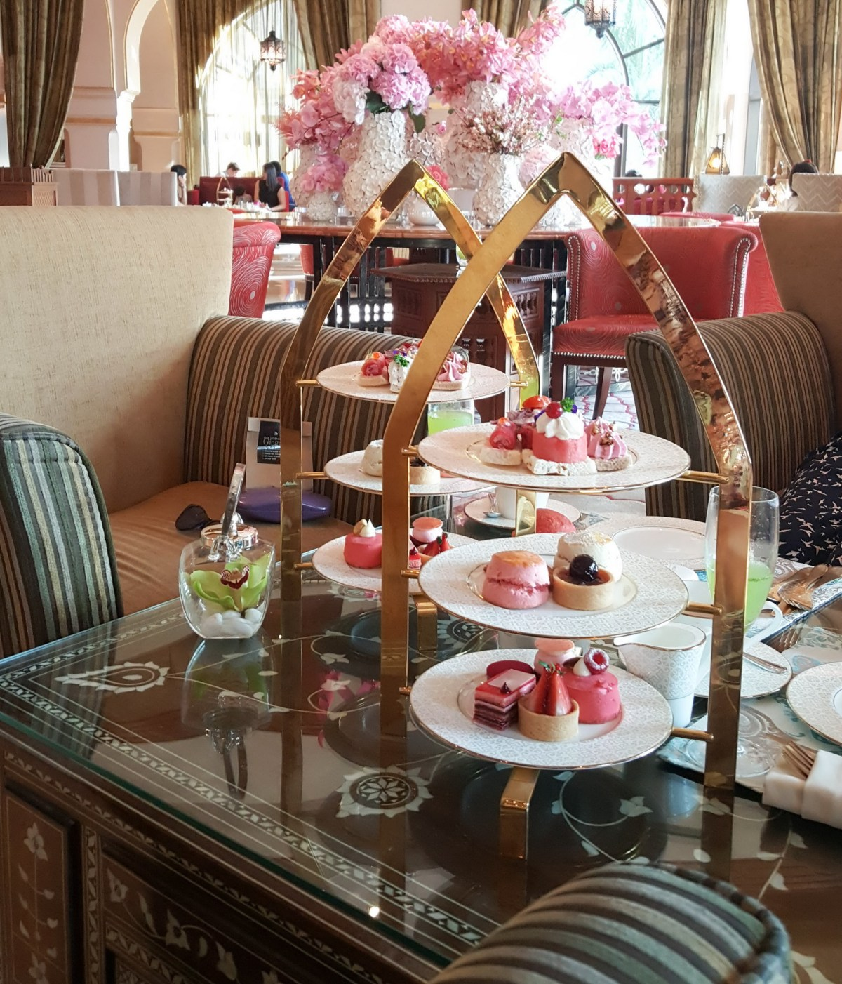 Afternoon tea the palace downtown Dubai