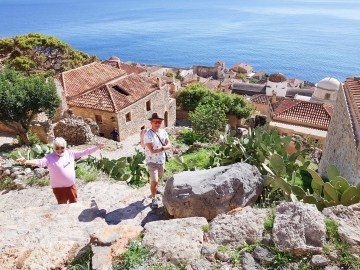 Monemvasia the views!