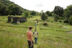 Trail walking to #3