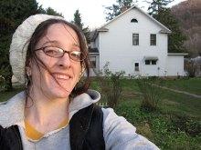 Proud new farm owner selfie