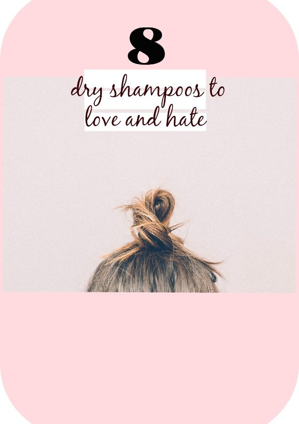 Dry Shampoo {updated experiments}