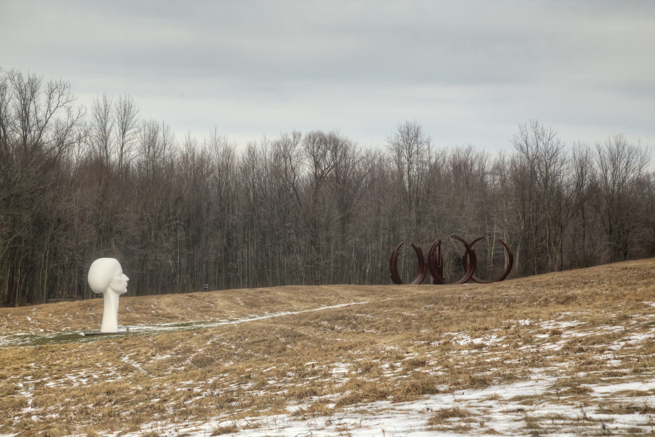 Sculpture Park at Art OMI - Sweet and Savoring [photo by Andy Milford]