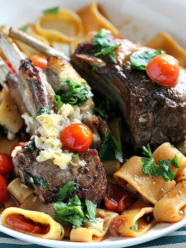 Garlic Lamb Chops in the Oven