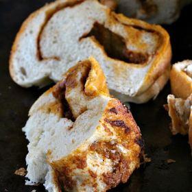 Sun Dried Tomato Mozzarella Bread