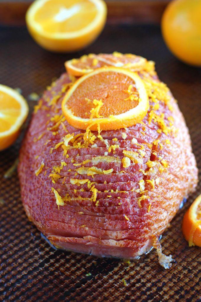 Easy Slow Cooker Brown Sugar Ham