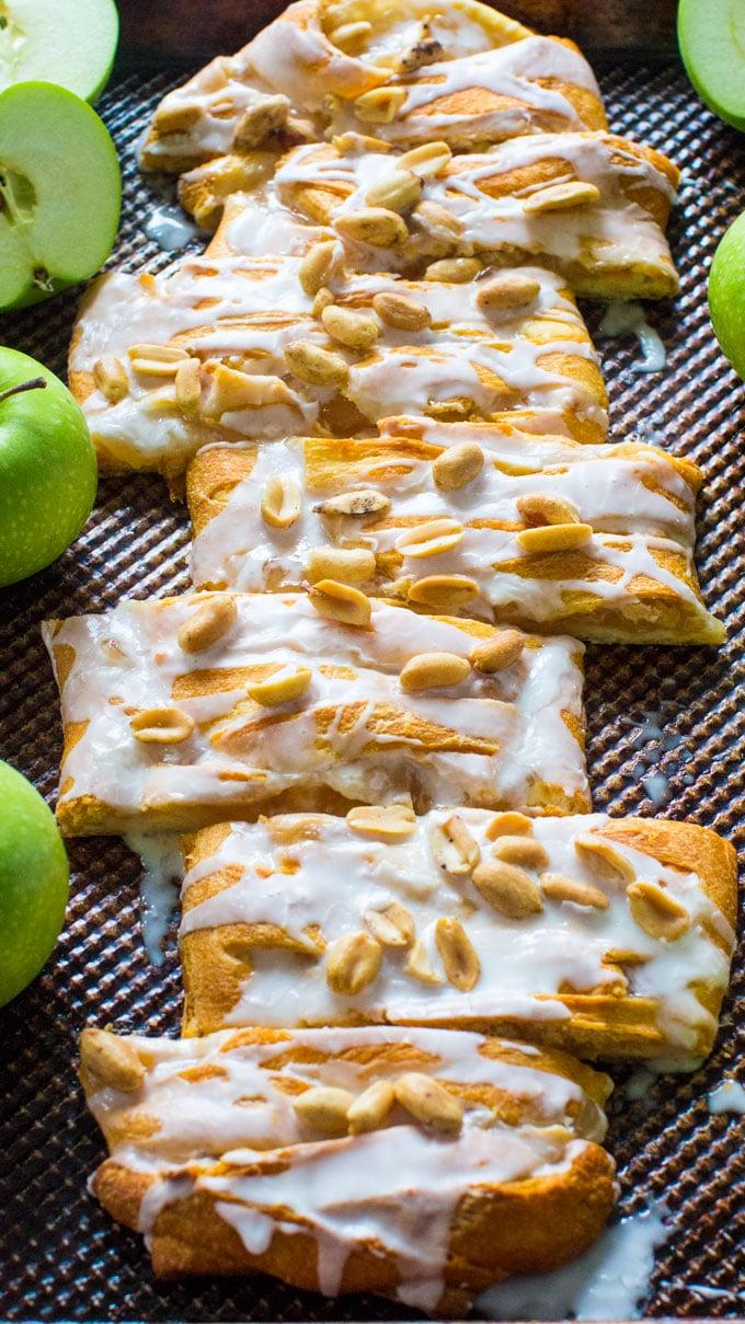 Easy Apple Pie Danish