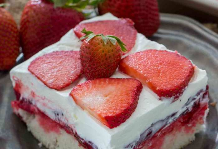 Best Strawberry Poke Cake Video Sweet And Savory Meals