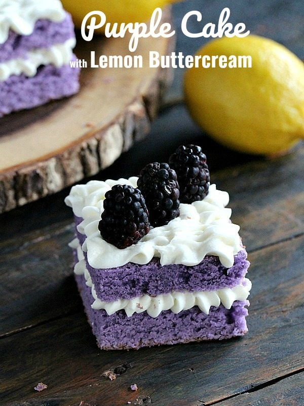 Purple Cake Recipe