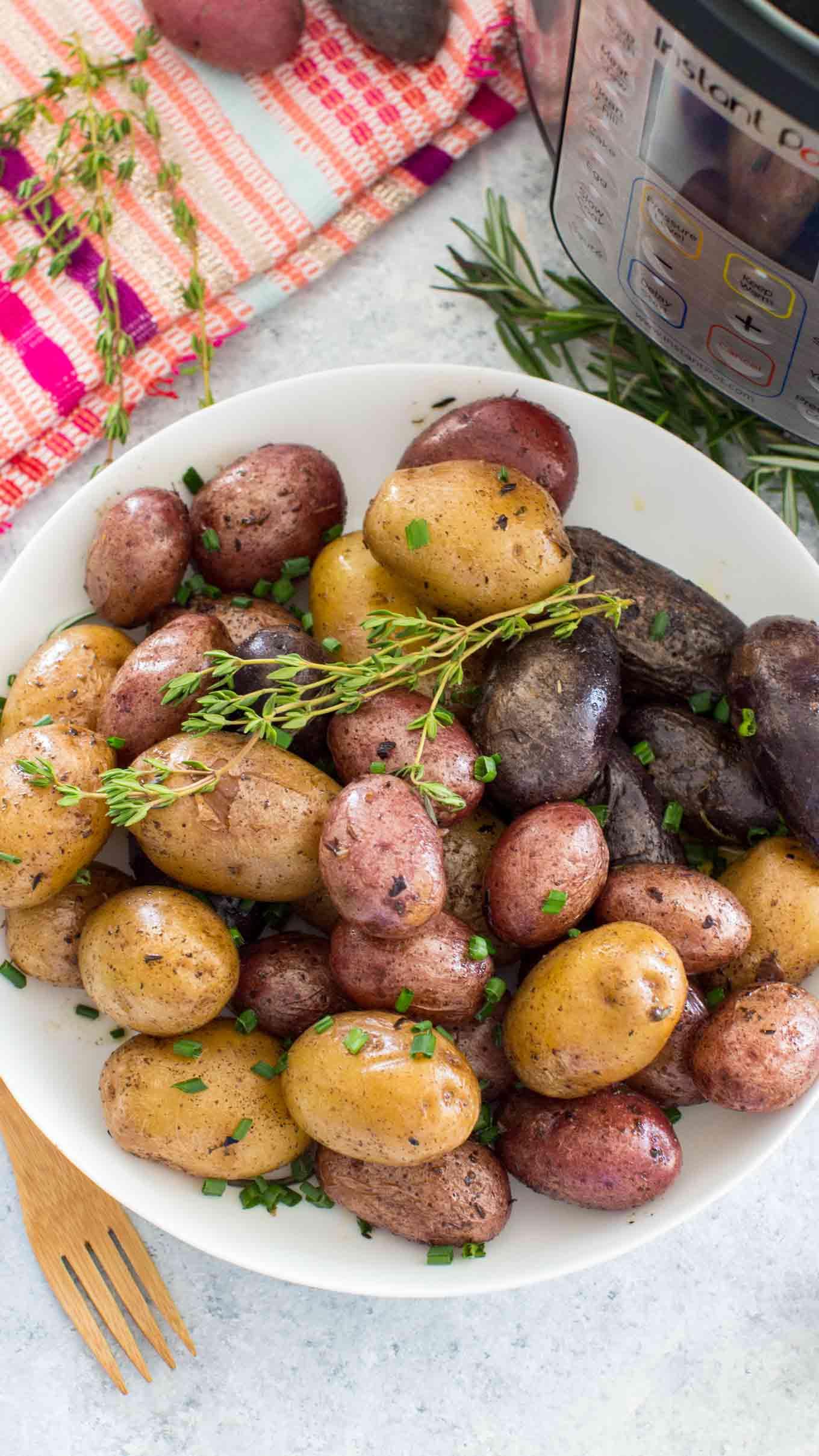 Instant Pot Roasted Potatoes Recipe