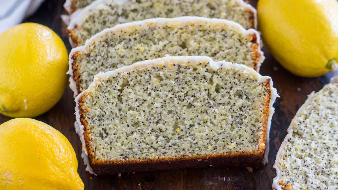 Quick and Easy Lemon Poppy Seed Bread