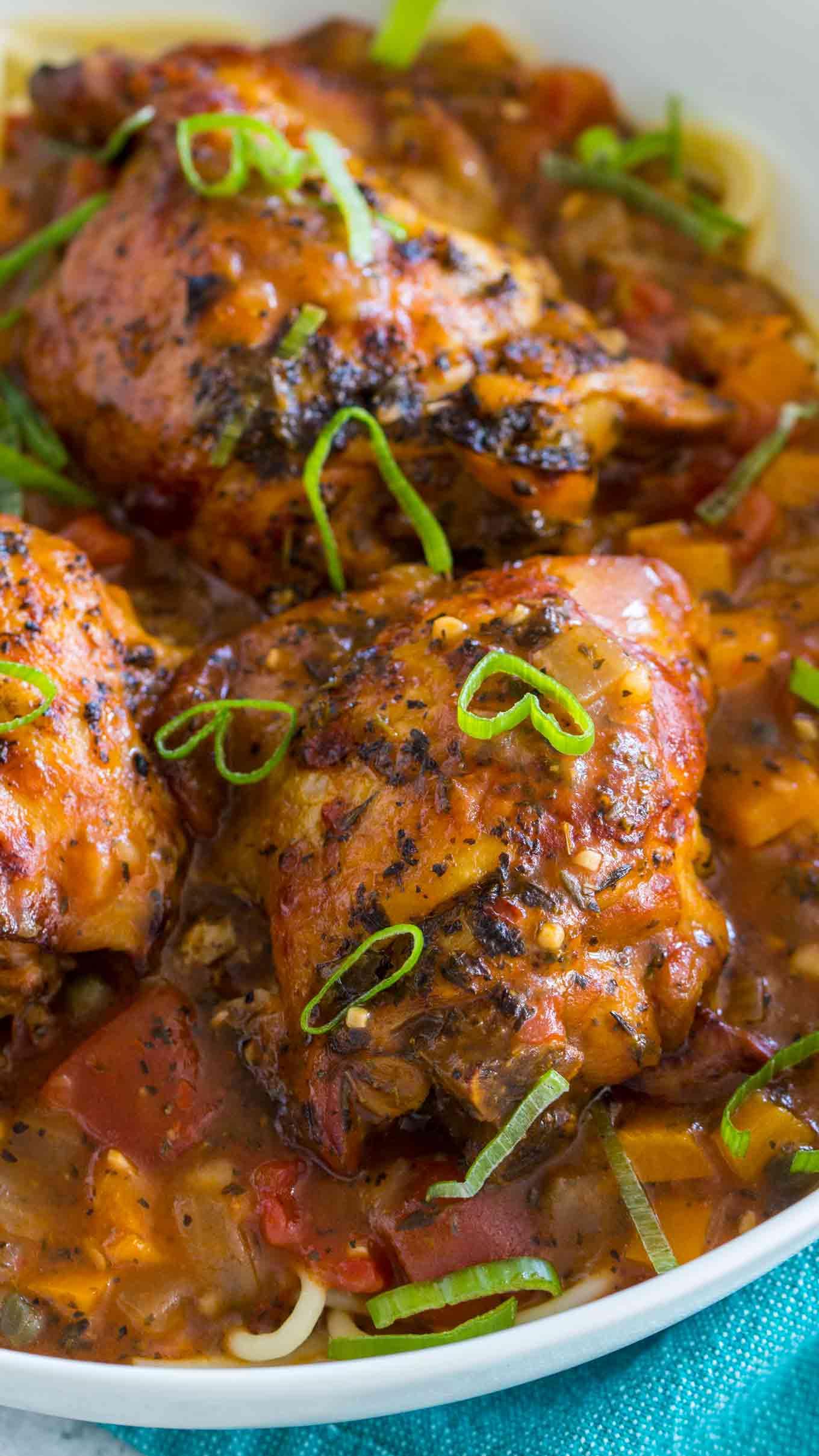 Best Instant Pot Chicken Cacciatore