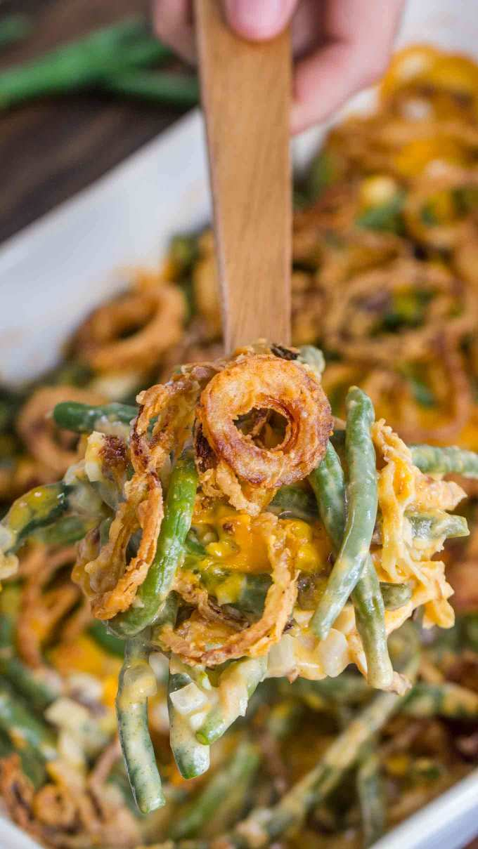 Best Green Bean Casserole Recipe from scratch