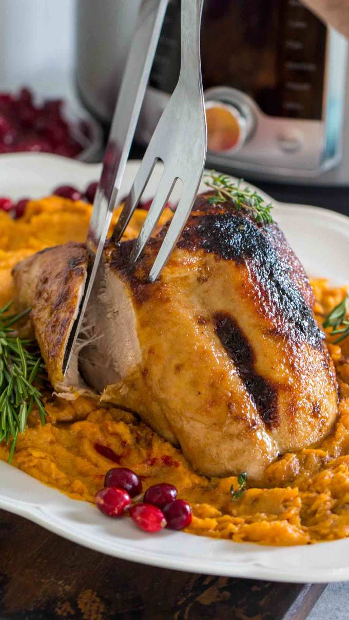 Easy Instant Pot Turkey Breast