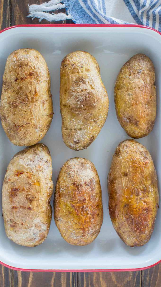 Simple Oven Baked Potatoes