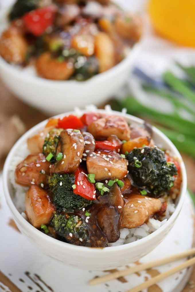 Honey Garlic Chicken Stir Fry Recipe