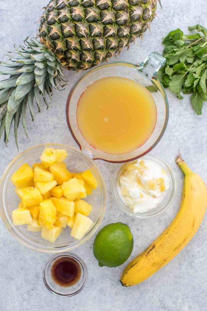 Best Pineapple Smoothie Recipe