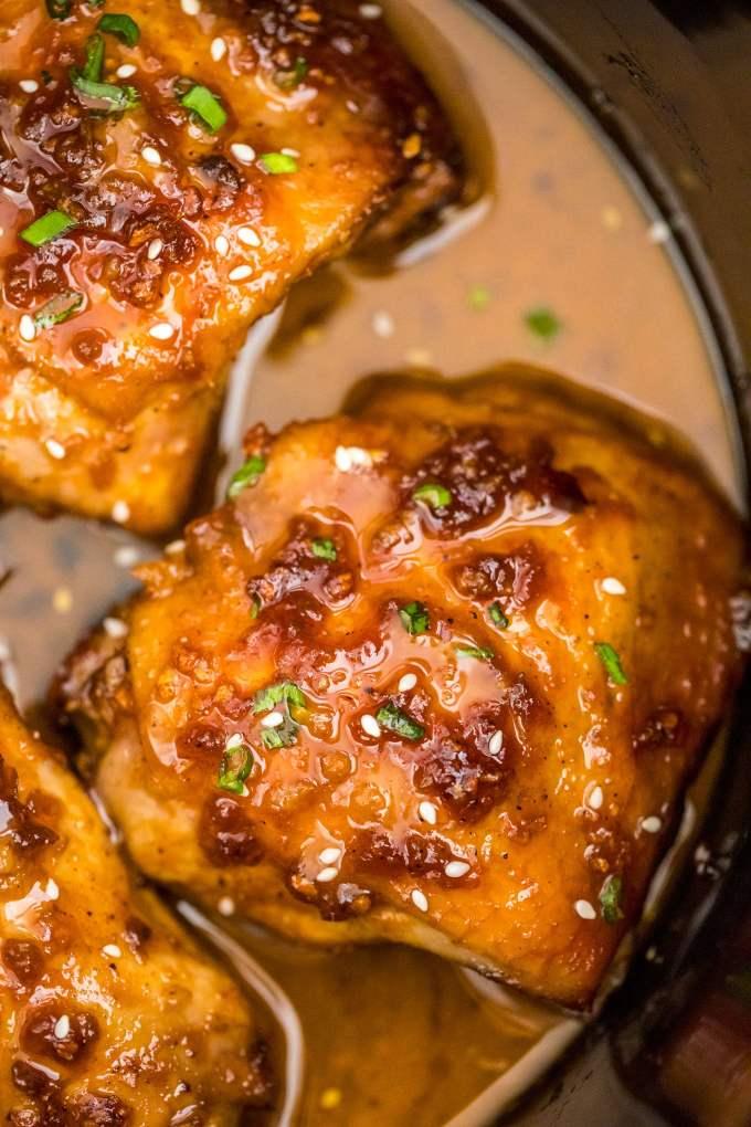 Best Slow Cooker Brown Sugar Garlic Chicken