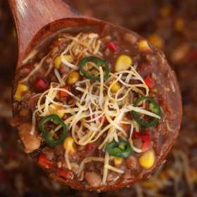 Best EVER Slow Cooker Chili