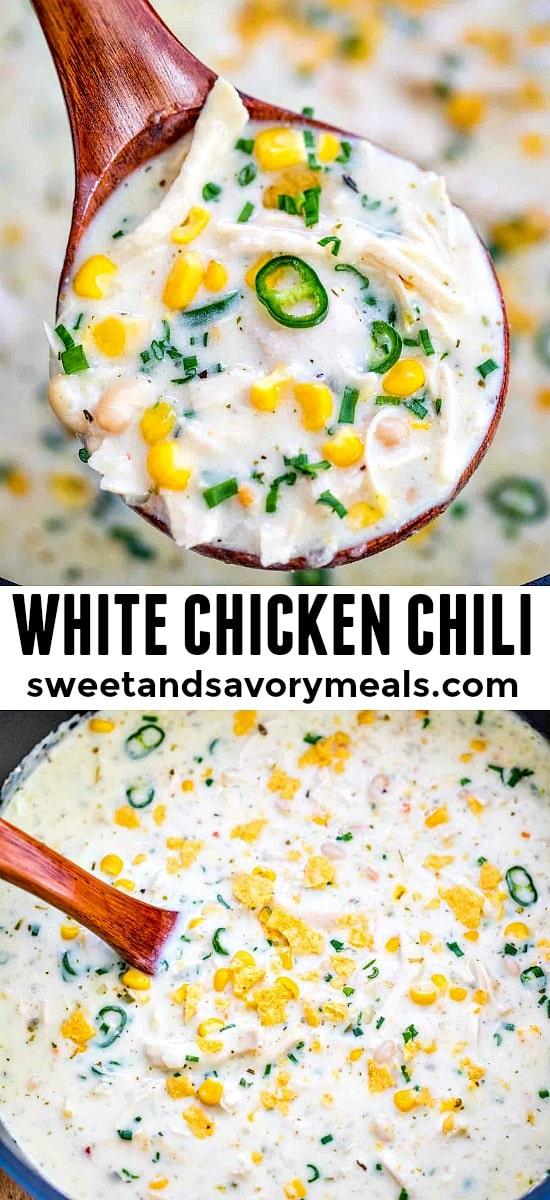 Easy White Chicken Chili Recipe