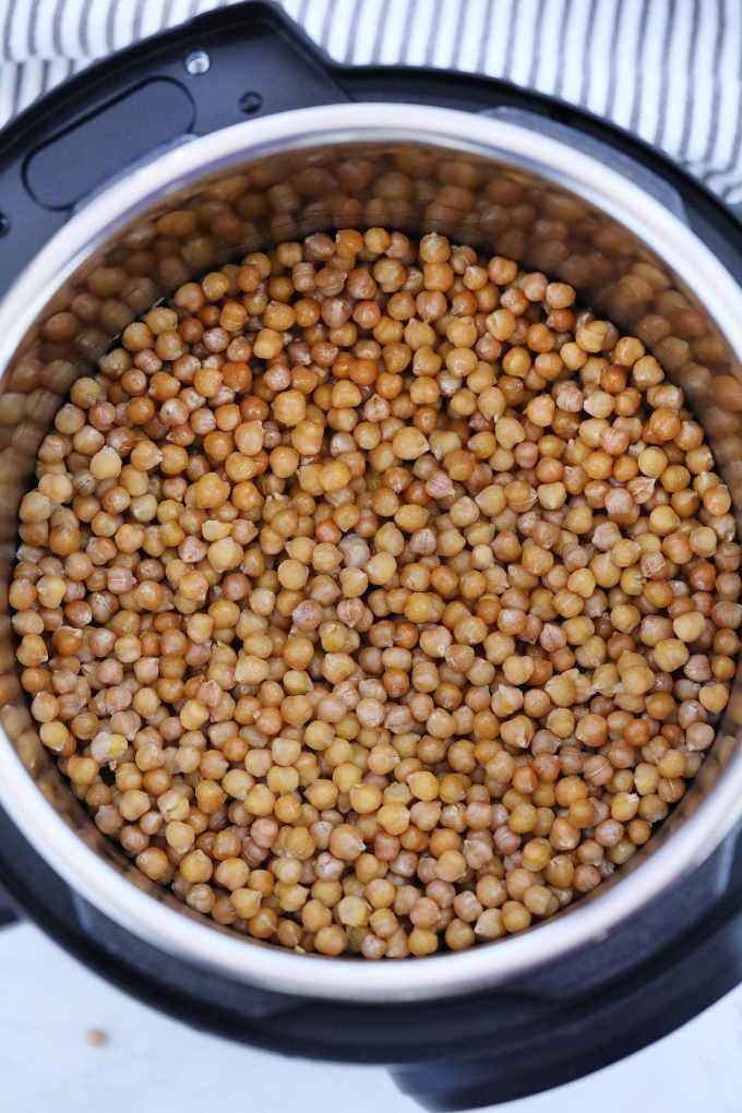 Instant Pot Chickpeas Recipe