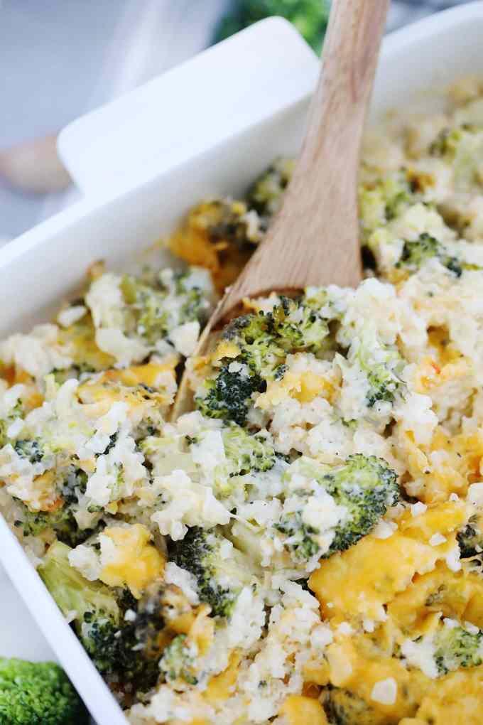 Homemade Broccoli Rice Casserole Recipe