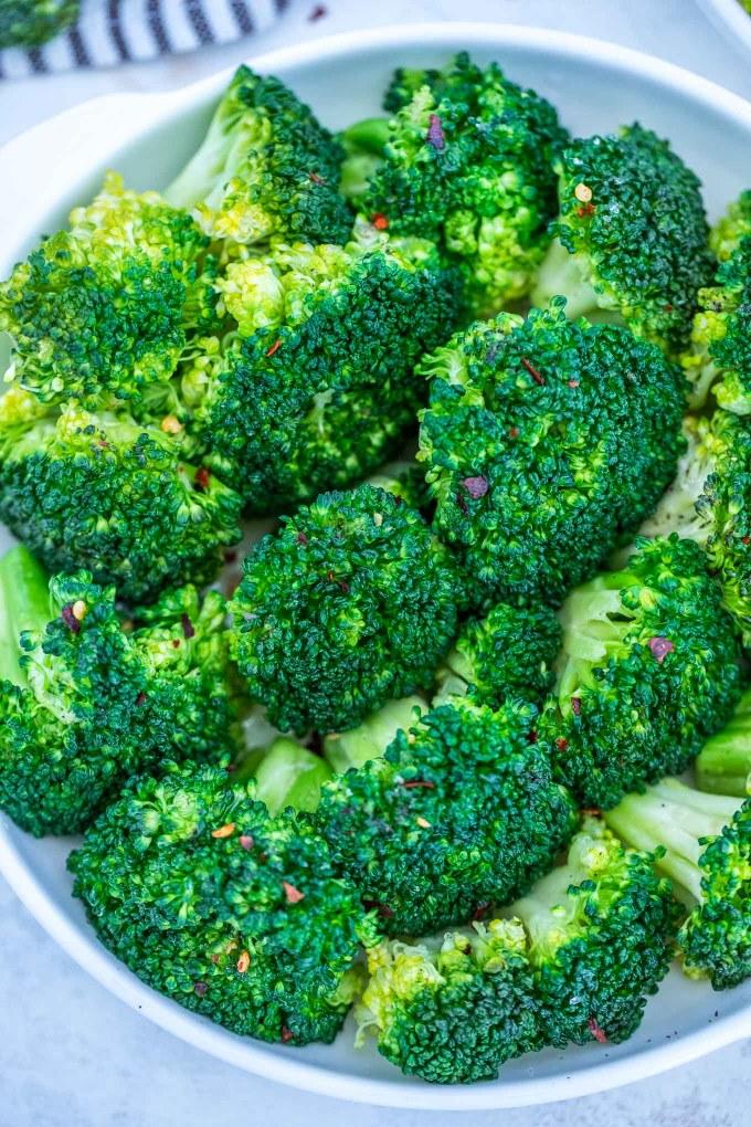 Healthy Steamed Broccoli Recipe