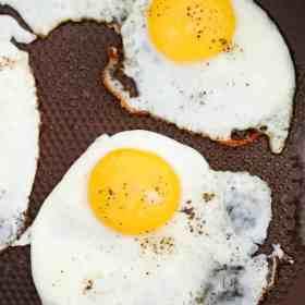 Perfect Fried Egg Recipe