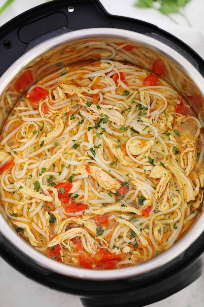 Instant Pot Asian Chicken Noodle Soup