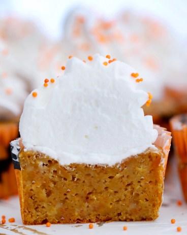 Sweet Potato Pie Cupcakes