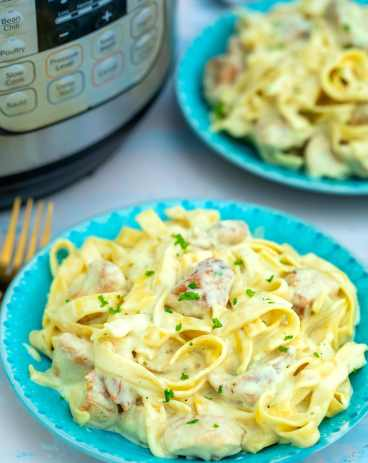 Instant Pot Chicken Alfredo