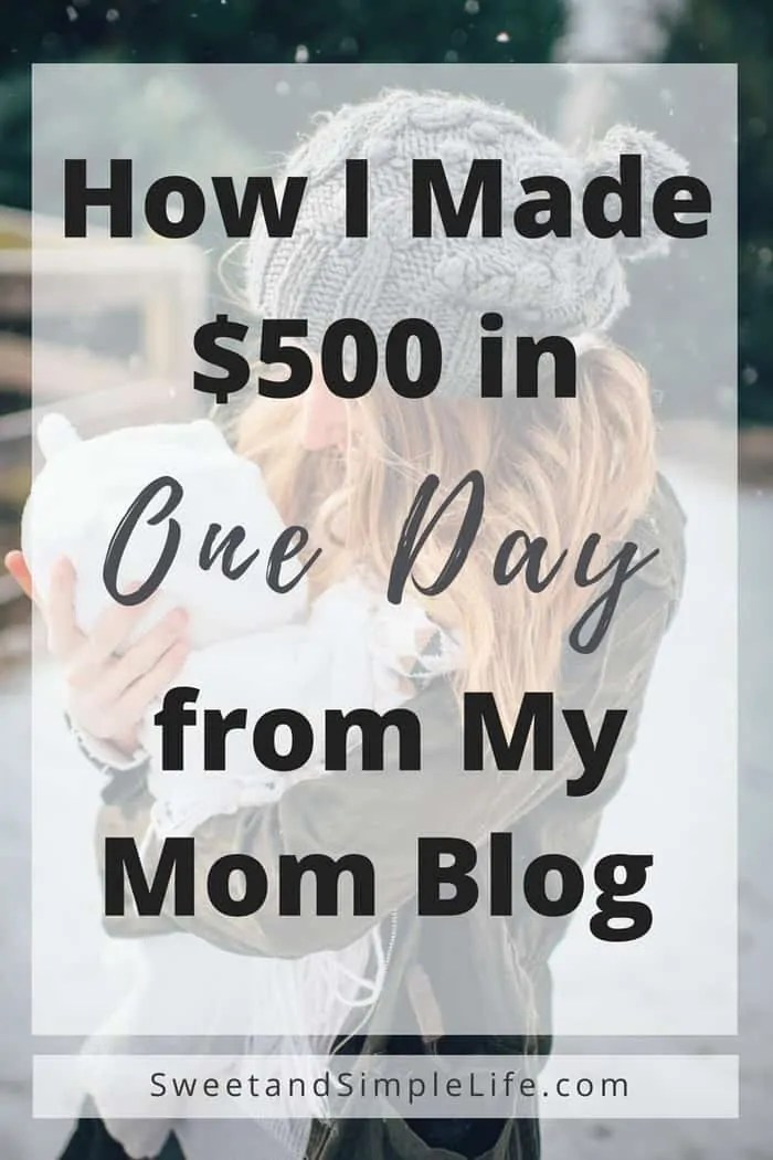 make money from your mom blog