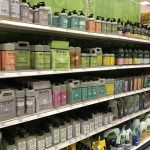 Natural products in Target aisle. Photo by Jessica Earner.