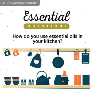 How do you use essential oils in your kitchen? We want to know! Comment below.
