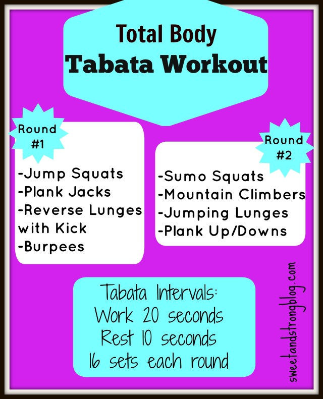 Total Body Tabata Workout