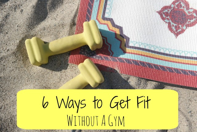 6 ways to get fit without a gym