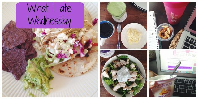 What I ate Wednesday #1 #WIAW