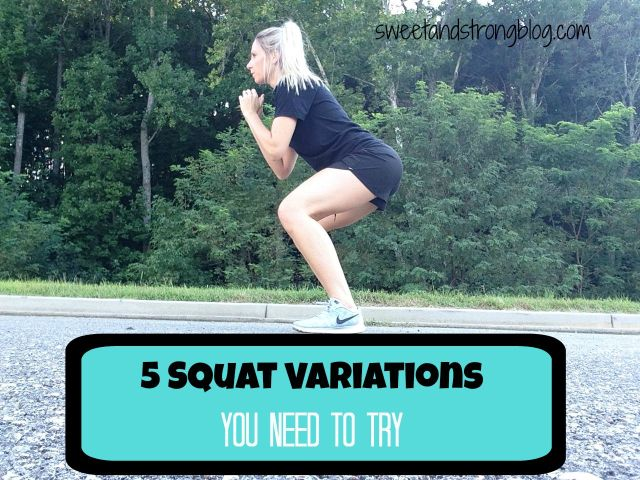 5 Squat Variations you need to try