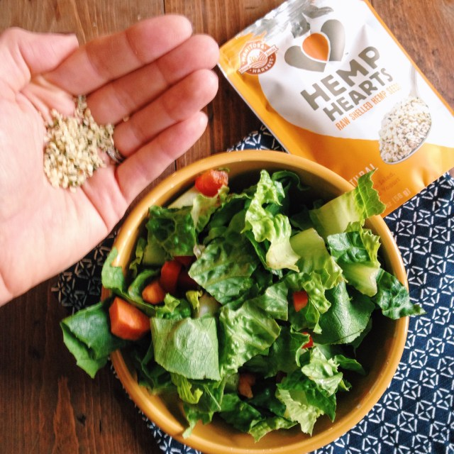 Hemp Hearts Raw Shelled Hemp Seeds from Manitoba Harvest