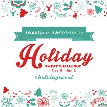 Sweat Pink #HolidaySweat Challenge 2015
