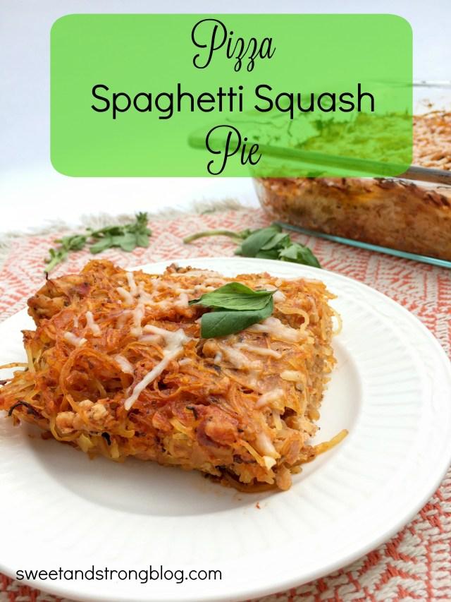 Pizza Spaghetti Squash Pie