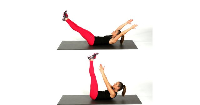 toe-touch-crunches