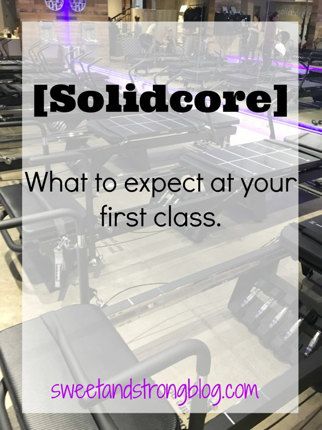 A low impact, high intensity workout. Solidcore Workout Class Review