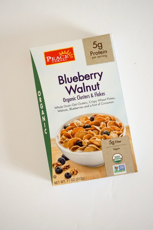 Peace Cereal Blueberry Walnut