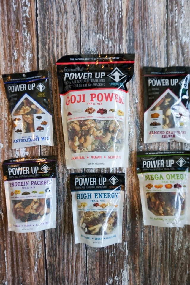 Power Up Snacks Trail Mix Blends