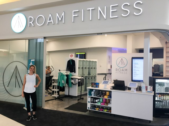 ROAM Fitness BWI Airport Tour