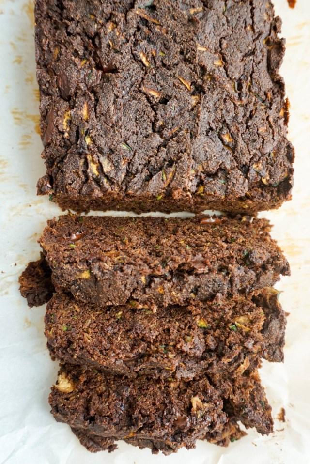 Paleo Double Chocolate Zucchini Bread